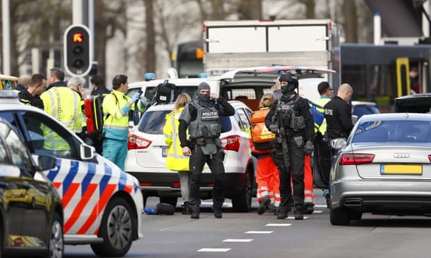 Utrecht shooting: several injured on tram as man opens fire